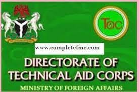 Directorate of Technical Aid Corps, Ministry of Foreign Affairs Shortlisted Candidates for 2021 – 2023 Biennuium Recruitment